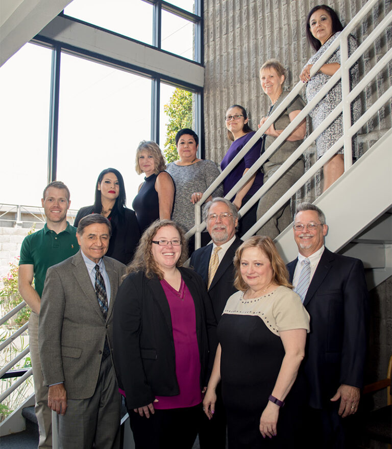 Schiffman Law Staff Photo on Stairs